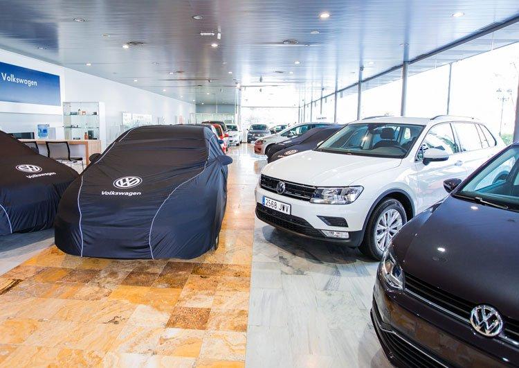 Exposición Volkswagen en Fuengirola