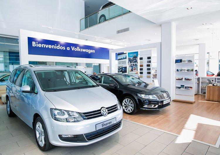 Exposición Volkswagen en Marbella