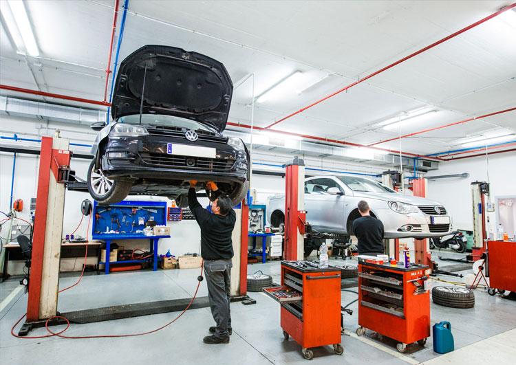 Taller Volkswagen en San Pedro de Alcántara