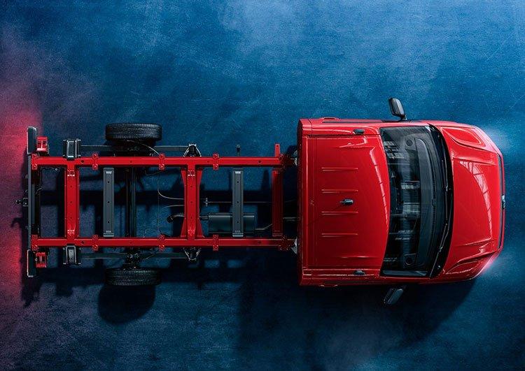 Volkswagen Crafter Chasis Versiones