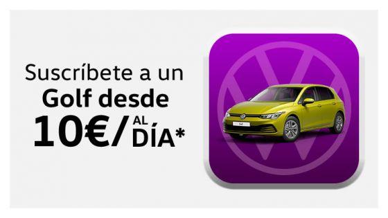 Volkswagen Golf desde 10€/día*