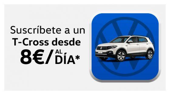 Volkswagen T-Cross desde 8€/día*