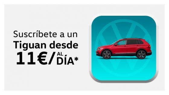 Volkswagen Tiguan desde 11€/día*