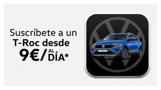 Volkswagen T-Roc desde 9€/día*