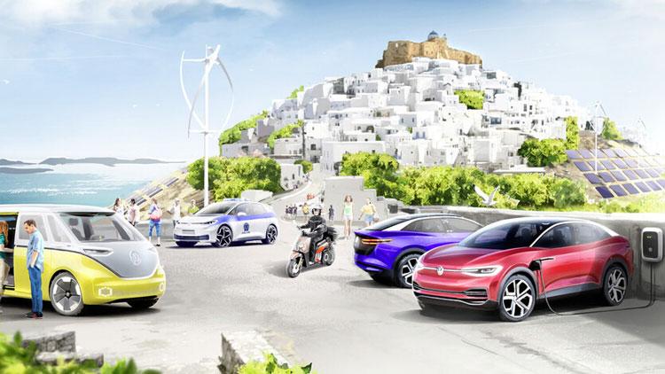 La isla inteligente de Volkswagen en Grecia se llama Astipalea